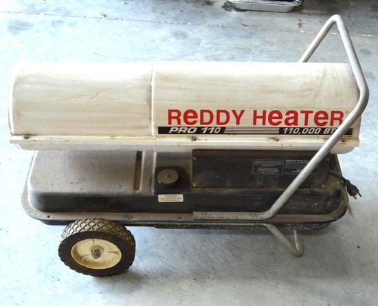 Pro 110 Reddy Kerosene/Diesel Heater 110,000 btu