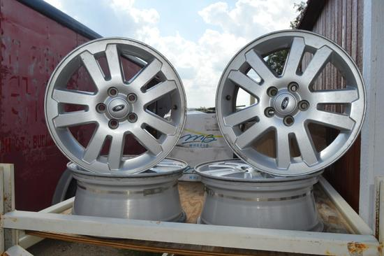 Set of 4 - 17? Ford Wheels