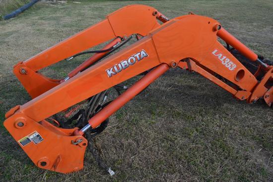 Kubota LA1353 Front End Loader Attachment