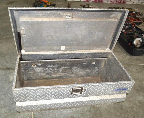 Diamond Plated 3' Hideaway Bed Truck Tool Box