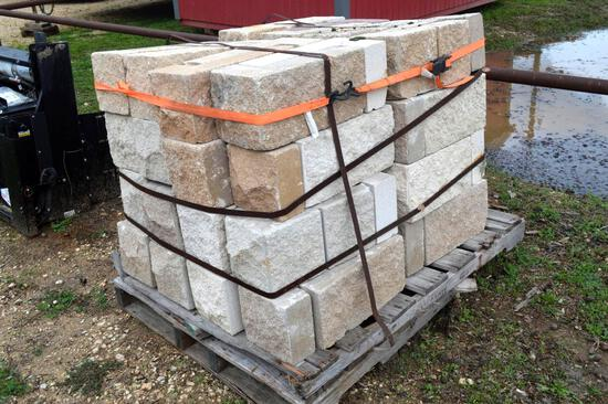 Pallet of L-Shaped Blocks