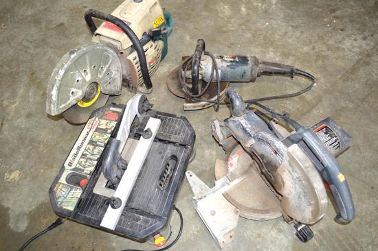 Assorted Power Tools - Makita, Craftsman, Bosch and Bladerunner