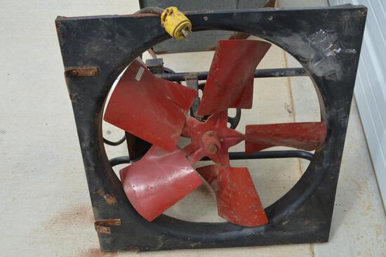 """Box 24"""" Fan Blade and Dayton Capacitor Start Motor"""