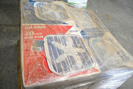 "Pallet of 20"" Box Fans"