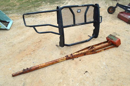 Gage Grill Guard & 7' Boom Arm