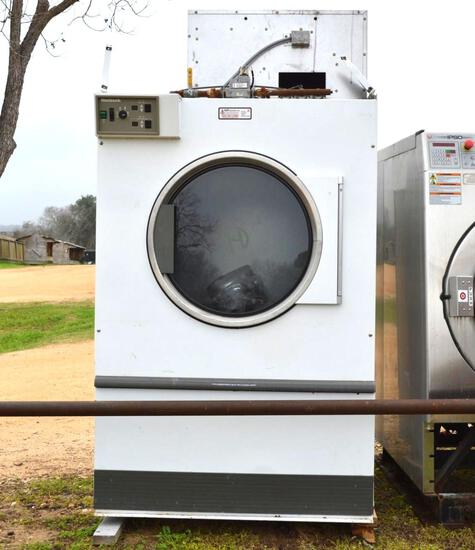 IPSO Commercial Washing Machine & Huebsch Commercial Dryer