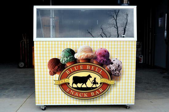 Stajac Industries Ice Cream Cooler and Hamilton Beach Milkshake Mixer