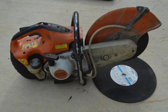 Stihl T5 420 Metal Cutoff Saw w/ Abrasive Blades, Gas Powered