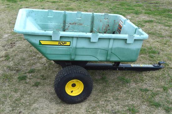 John Deere 10P Tow-Behind Utility Cart