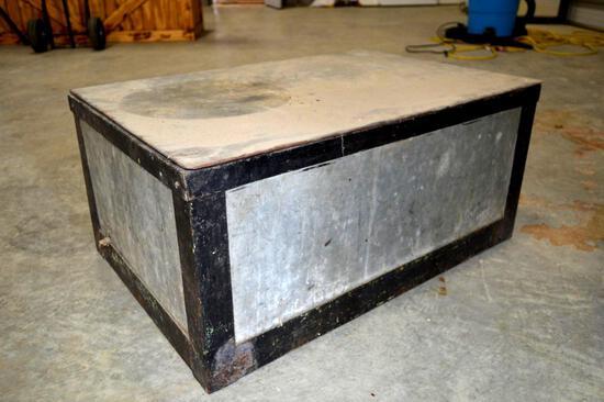 Handmade - Galvanized Insulated Cooler/Chest/Ice Box
