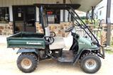 Kawasaki 550 Mule, Gas