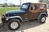 1998 Jeep Wrangler 4WD 5 spd. Manual, 2 Door, Soft Top, Gasoline