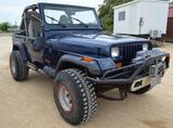 1990 Jeep Wrangler 2-Door 4x4 L6 Gasoline