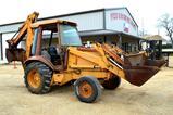 Case Straight 580K Backhoe/Loader, Diesel