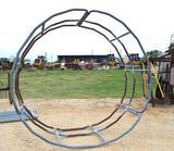Galvanized Hay Ring