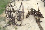 Antique John Deere Side Cutter & Horse Drawn Plow