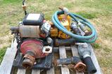 Set of 2 Water Pumps - Monarch BSGF-8 & Hale HP200