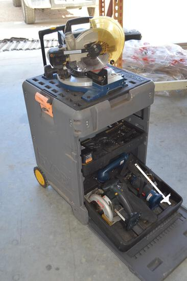 Ryobi Chopsaw in Portable Carrying Case