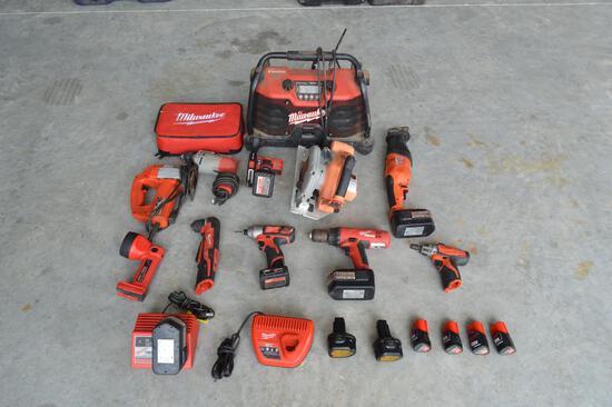 Milwaukee Power Tools - Drills/Hand Saws/Flashlight/Saw/Radio/Ect.