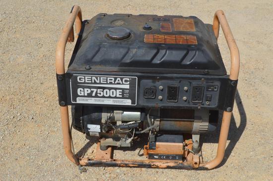 Generac GP7500 E Generator, 7500W
