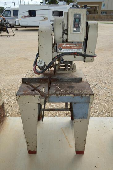 Sever All Angled Iron Chop Saw