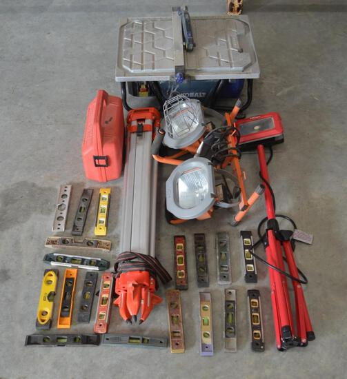 Assorted Shop Tools and Accessories