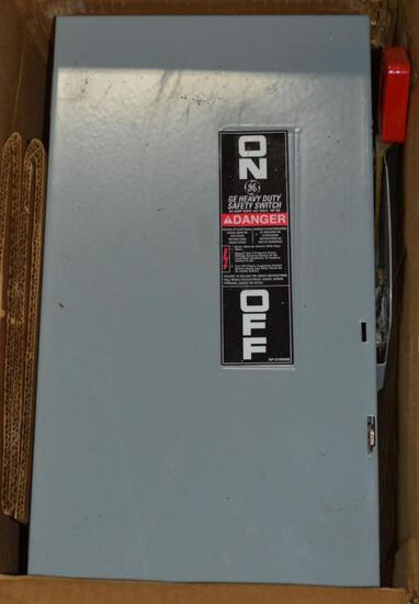 General Electric Safety Switch, Heavy Duty, 60A, New