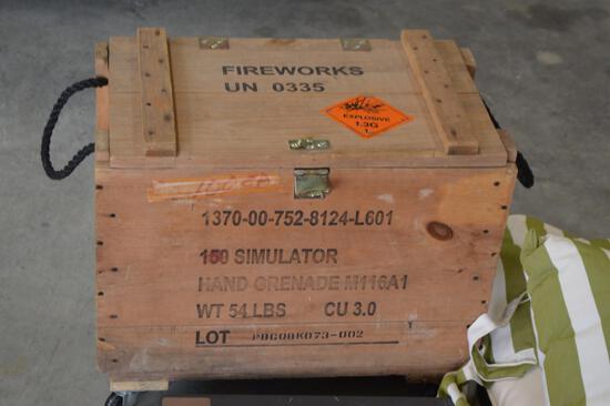 Ammo Box on Wheels