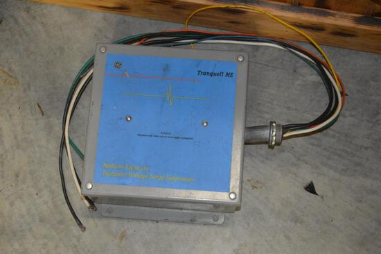 General Electric Transient Voltage Surge Supressor, Whole House 120-240V, Single Phase
