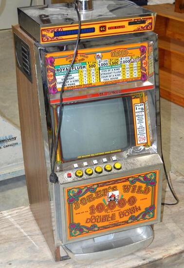 "Sigma "" Tv Poker"" Slot Machine"