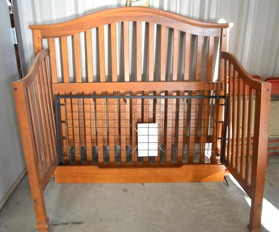 Wooden Baby Bed Frame
