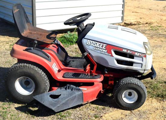 """Huskee Lawn Mower, 19 HP Briggs & Stratton Engine, 42"""" Cutting Deck"""