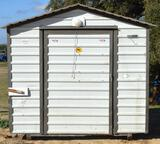 8ft long x 8ft wide - Storage Building