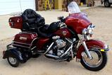 1999 Harley-Davidson Ultra Classic FLHTCUI 3-Wheel Motorcycle, Gasoline, Includes Bluetoothe Helmet