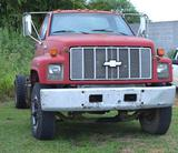 1992 Chevrolet C70 Kodiak Gasoline V8 Truck, Conventional Cab & Chassis