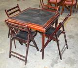 Card Table & Chairs
