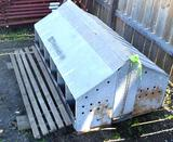 Vintage Shenandoah Double Chicken Coop