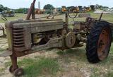 Antique John Deere Poppin Johnny Tractor