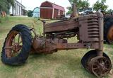 Antique John Deere Poppin Johnny Tractor