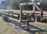 Gooseneck Hay Trailer - 5 Bale Hauler, Dual Axel *BOS Only
