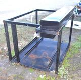 Work/Welding Skid w/Side Mount Tool Box, Skid Measures 5x4x3