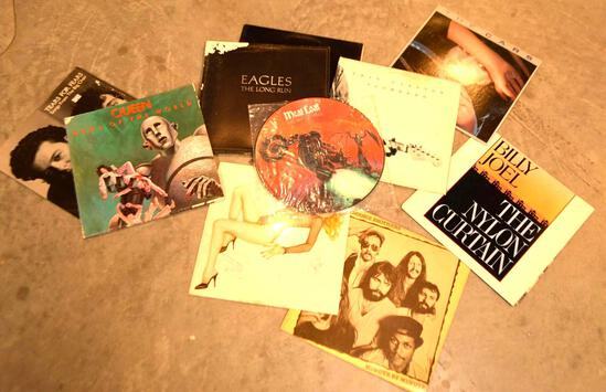 Collection Of 12'' LP Vinyl Records