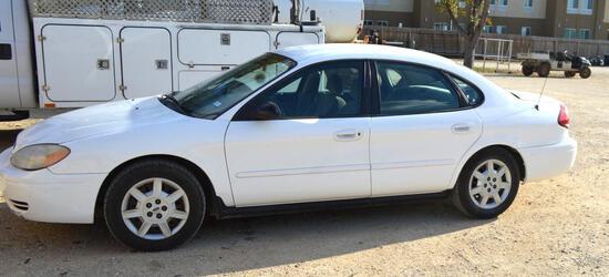 2007 Ford Taurus Passenger Car, VIN # 1FAFP53UX7A209662