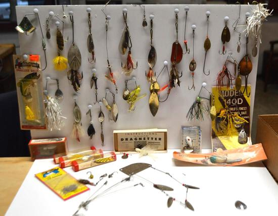 Collection Of Vintage Lures