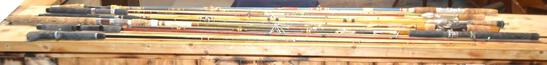 Lot Of (11) Various Fishing Rods
