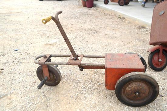 Vintage 1950's Irish Mail Cart/Pedal Car Chain Driven