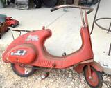 Vintage Castelli Motor Bike W/out Seat