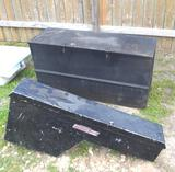 Deep Chest Tool Box & Weather Guard Side Mount Tool Box