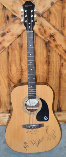 Autographed Epiphone Guitar