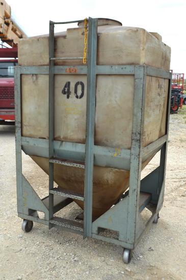 500 Gallon Bulk Tank On Wheels
